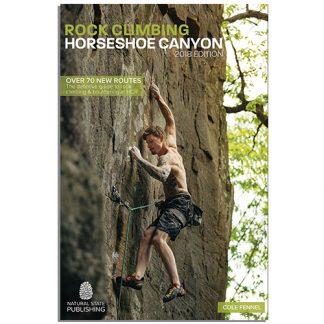 Horseshoe Canyon rock climbing guidebook. Rock climbing in the Ozarks