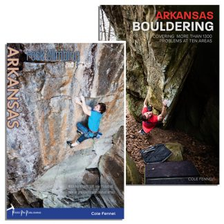 The Complete Arkansas Bundle. Rock Climbing Arkanas 2nd Edition and Arkansas Bouldering.