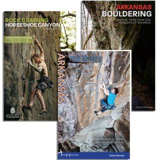 The Complete Arkansas Bundle. Rock Climbing Arkanas 2nd Edition and Arkansas Bouldering.